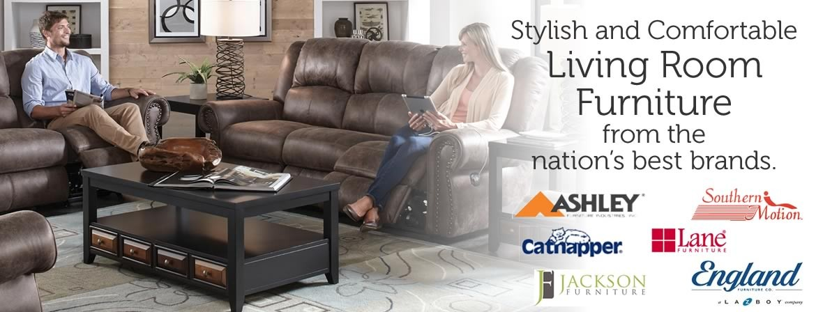 Living room furniture from the nation's best brands.
