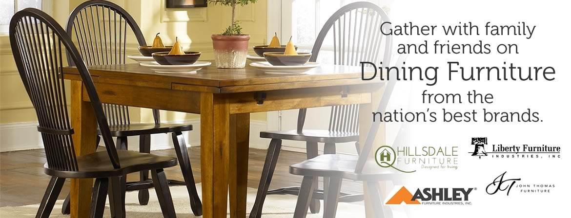 Dining room furniture from the nation's best brands